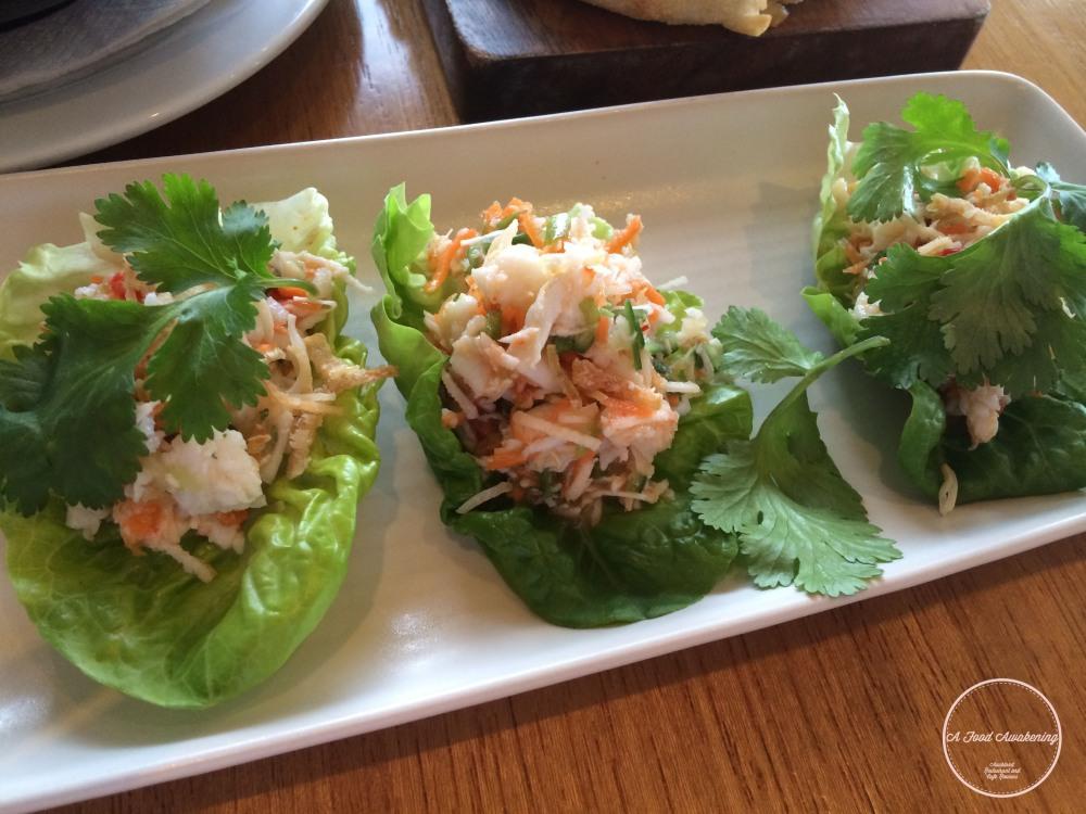 Crab Lettuce Rolls