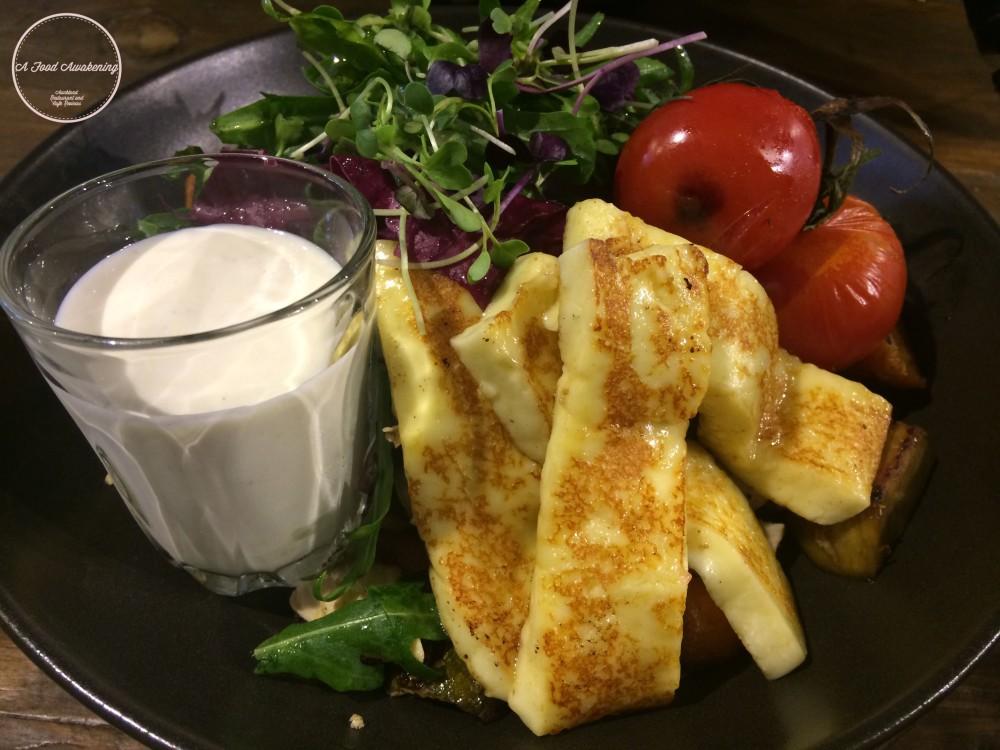 Haloumi and Roast Vege Salad