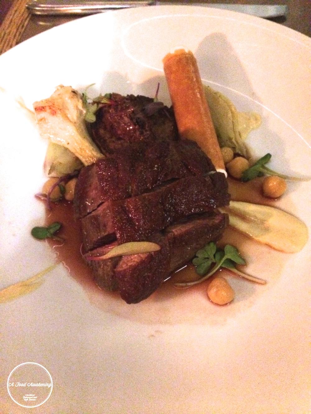Hawkes Bay Lamb Rump Main - Akl Restaurant Month