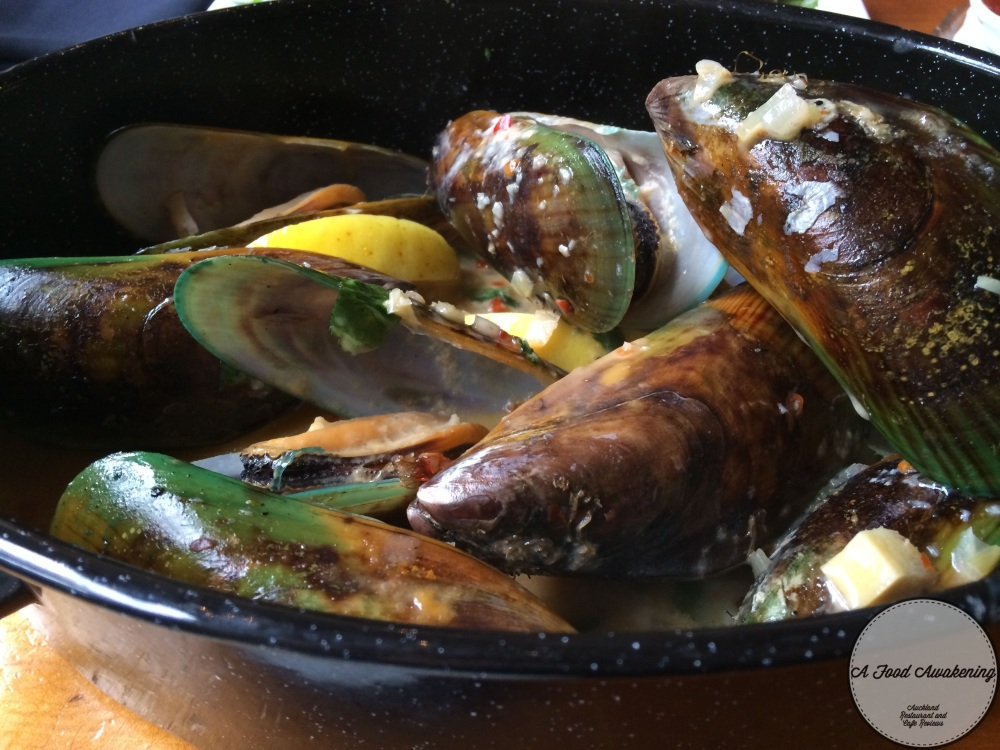 Coriander and Lime Mussels