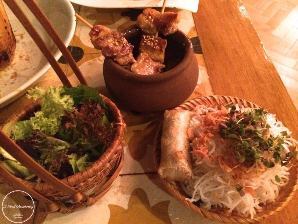 Hanoi rice noodles & Grilled Pork