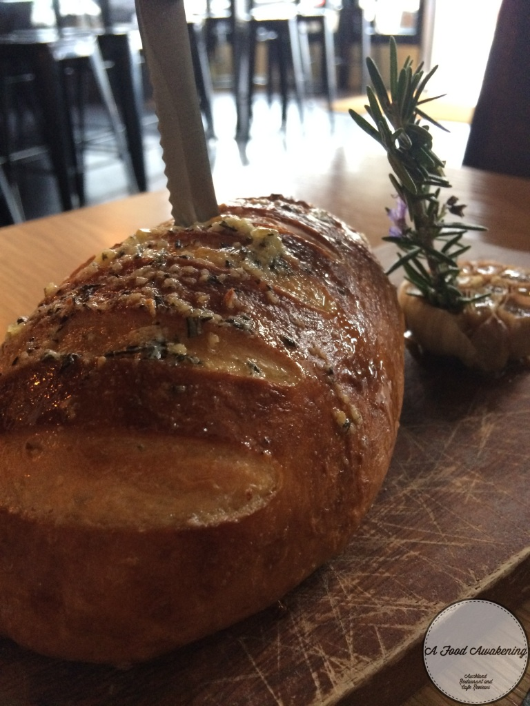 Garlic Pretzel Bread