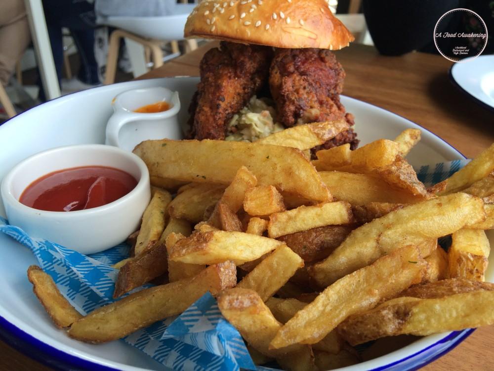 Spicy Buffalo Chicken Burger