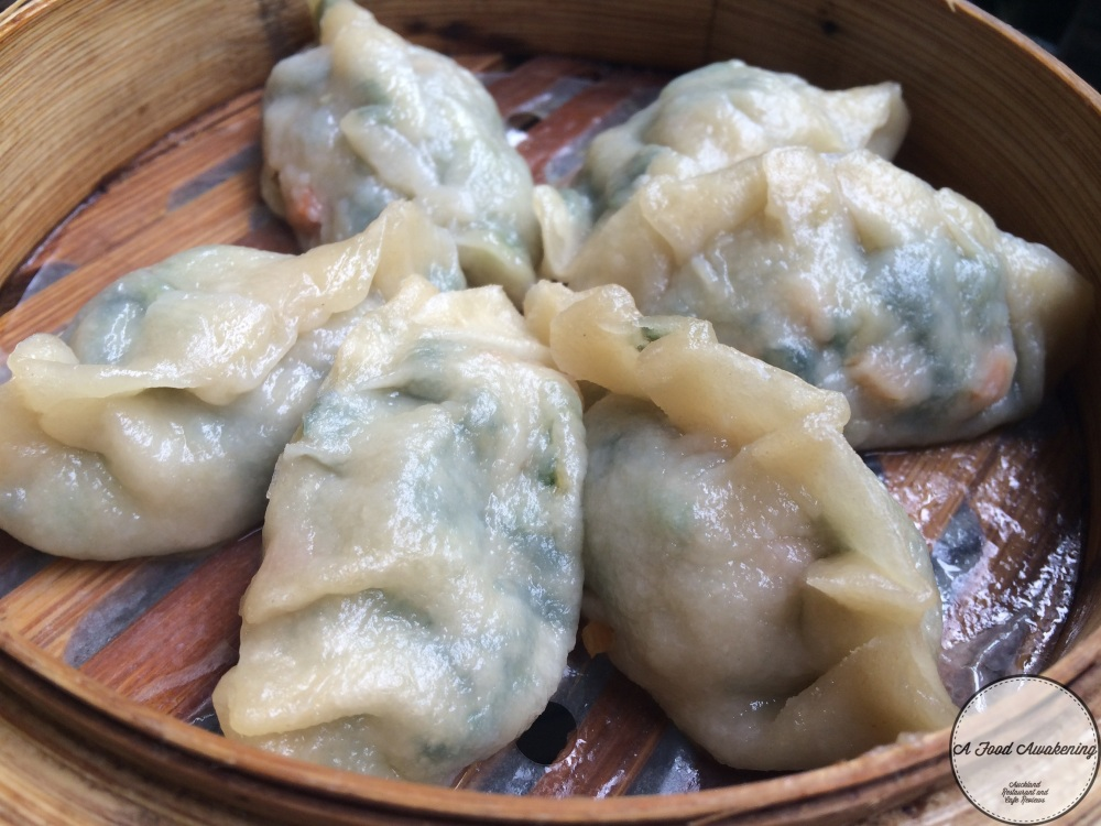 Spinach and Cabbage Momo