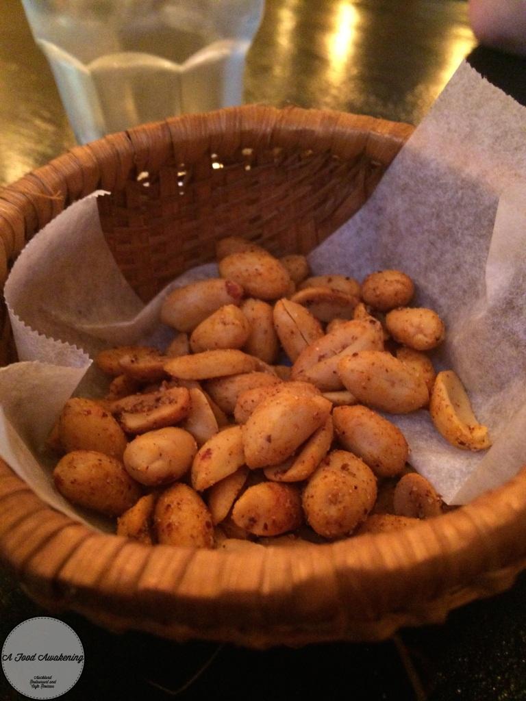 Free Spicy Peanuts