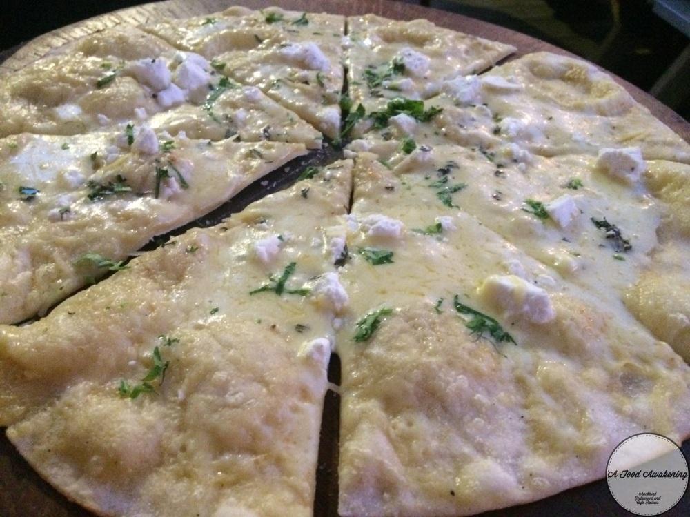 Feta and Rosemary Pizza Bread