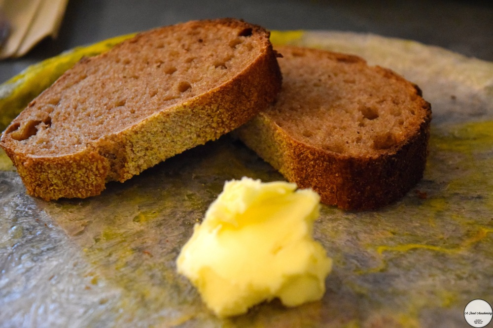 Homemade Sourdough w homemade butter