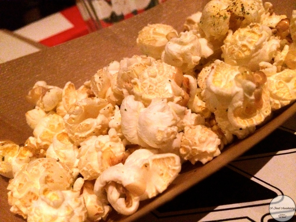 Complimentry Spicy Popcorn