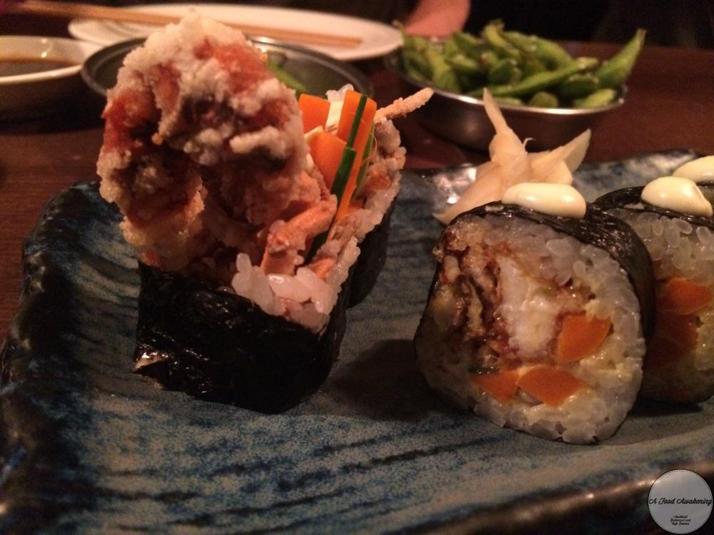 Crab Tempura Sushi