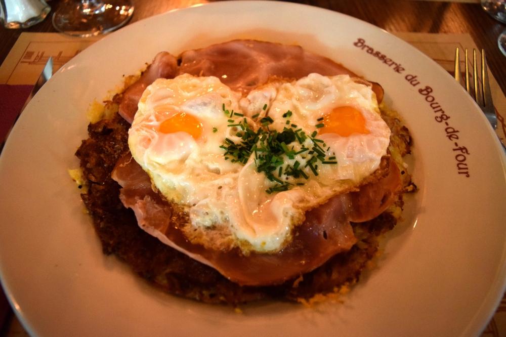 Ham and Eggs Rosti