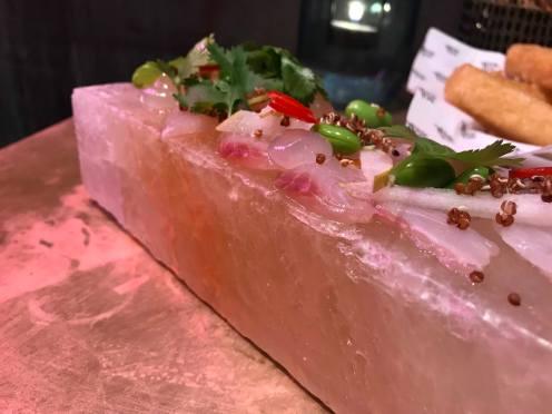 Himalayan Salt Slab Cured Market Fish